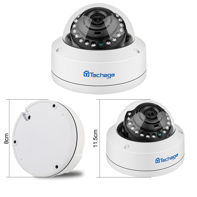 Techage H.265 8CH 5MP POE NVR CCTV Sistemi Vandalproof 5MP Kapalı - Güvenlik ve Koruma - Fotoğraf 3