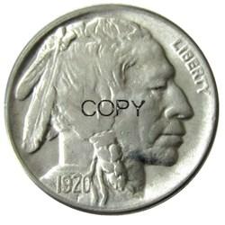 США 1920 P, D, S с гравировкой в виде американского бизона из никеля пять цент, копия монеты