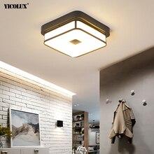 Arañas Led de acrílico para pasillo, balcón, pasillo, casa, AC85-265V, moderna, forma cuadrada y redonda, accesorios de lámpara de interior, luminaria