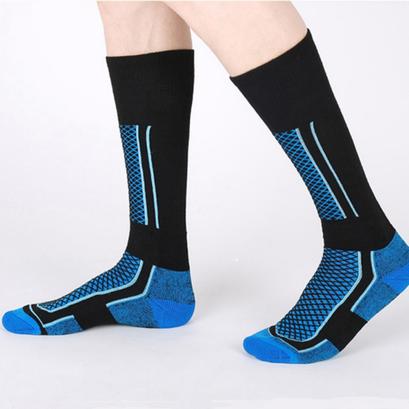 Cycling Socks Children Winter Thermal Ski Socks Thicken Cotton Warm Socks Snowboarding Skiing Hiking Stocking SocksZi