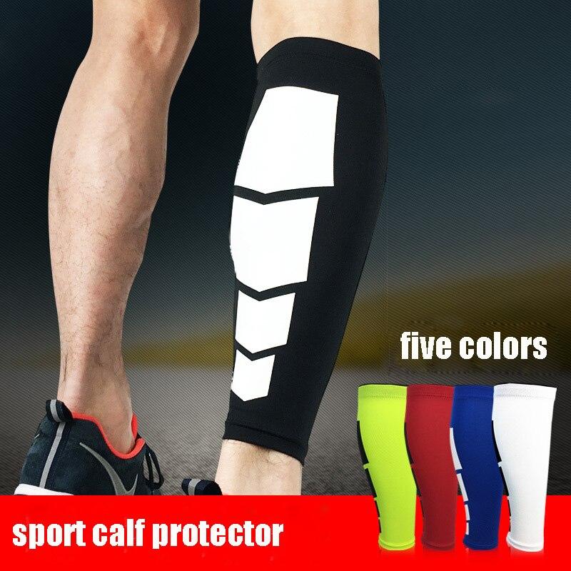 1 шт., эластичные Компрессионные носки для голени, спортивные носки для бега, поддержка ног, фиксатор голени, носки для мужчин и женщин