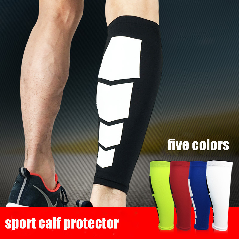 1Piece Elastic Compression Calf Sleeves Sports Running Leg Support Brace Shin Ankle Socks For Men Women