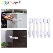 Free Shipping 6 Pcs Per Lot Multifunction Bendy Baby Safety Adjustable Lock In Drawer Cabinet  Door Toilet Refrigerator