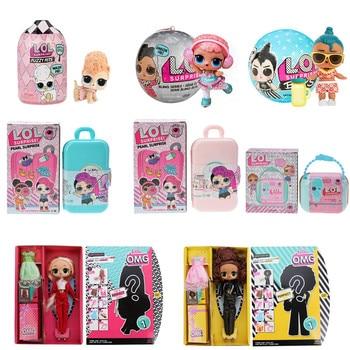 Original LOL Surprise Series 5 Hairgoals lol pets Plastic Baby Doll DIY Toy Kids Girls birthday Gifts montrose montrose original album series 5 cd