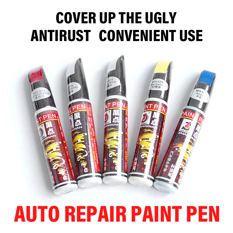 New Car Repair Paint Pen Tool Professional Applicator Waterproof Touch Up Car Paint Repair Coat Painting Scratch Clear Remover