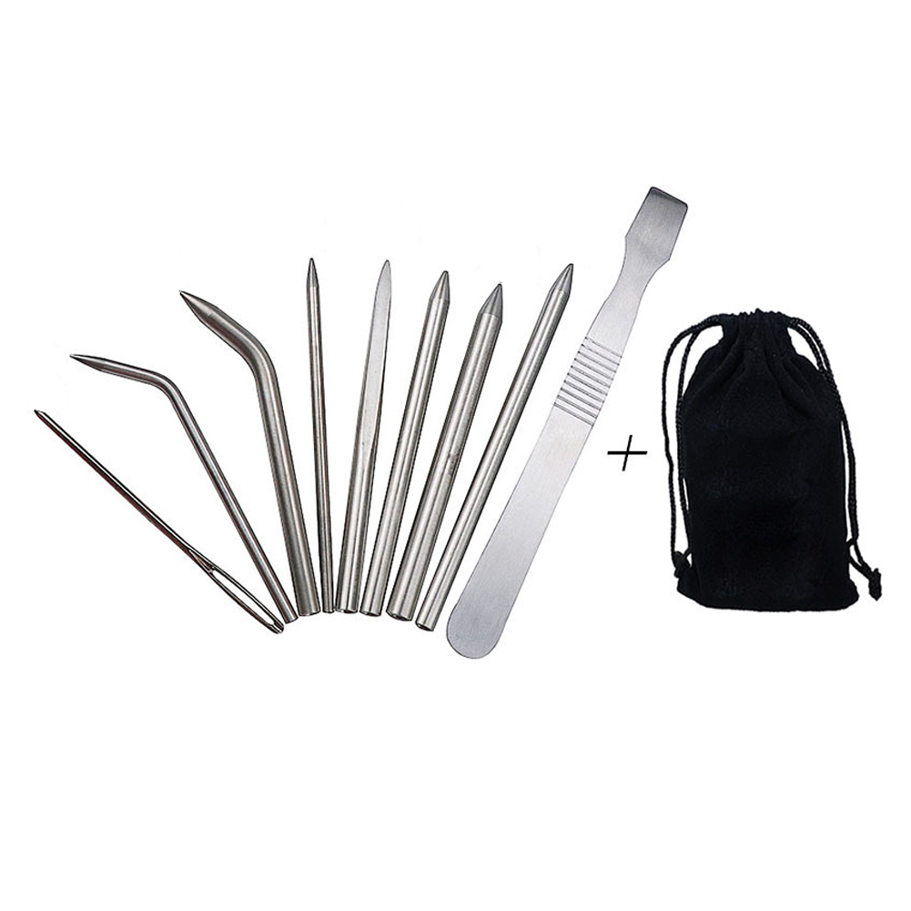 Lacing Stitching Camping Tools Paracord Fids Weaving Needle Multipurpose DIY Bracelet Outdoor Hiking Stainless Steel Accessories