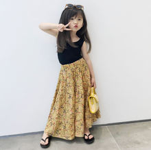 Детская одежда для девочек летняя Корейская новая детская юбка