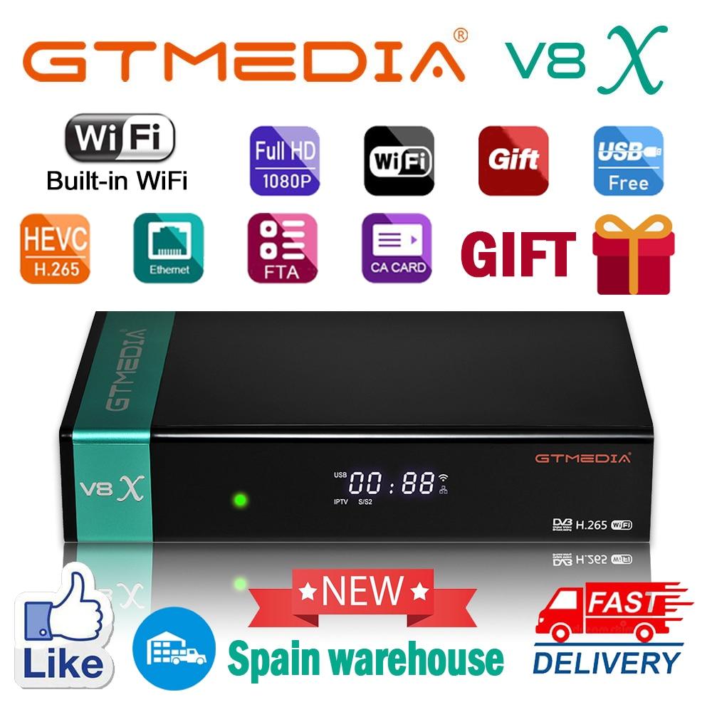 1080P FHD GTmedia V8X satellite receiver unterstützung DVB-S2/S2X CA Karte slot angetrieben durch gtmedia V8 NOVA v8 ehre keine alle enthalten