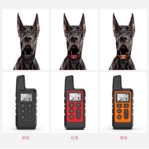 Image 3 - 500m כלב אימון צווארון עמיד למים נטענת שלט רחוק לחיות מחמד להפסיק לנבוח עם LCD תצוגה עבור כל גודל 40% הנחה