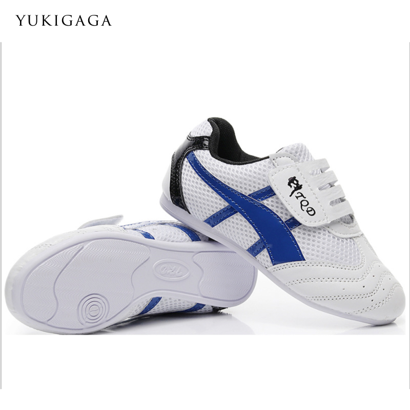 Taekwondo Shoes Martial Arts Shoes Gym Sport Boxing Kung Fu Tai Chi Running Shoes For Adults Kids Breathable Training Sneakers