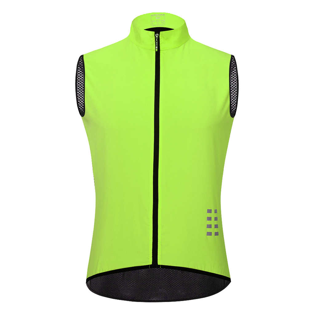 Sleeveless Cycling Top Vest Windproof Men/'s Bicycle Biking Jacket Quick Dry