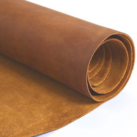 Large size Tanned Leather Piece DIY Genuine Leather Material Full Grain cowhide cow leather brown thick skin 2.0 mm