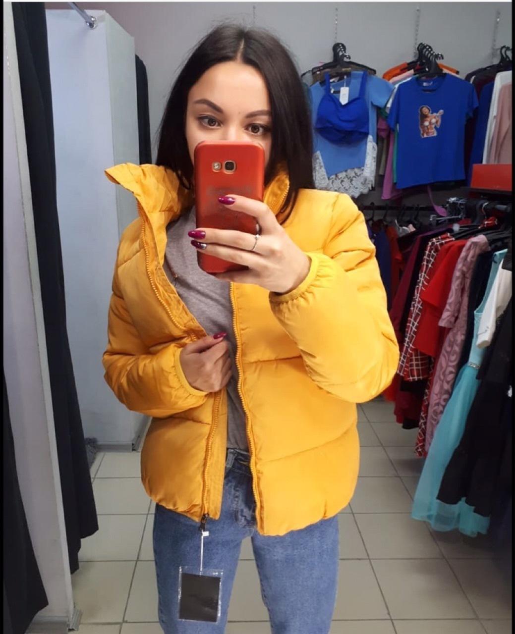 FORERUN Fashion Bubble Coat Solid Standard Collar Oversized Short Jacket Winter Autumn Female Puffer Jacket Parkas Mujer 19 19