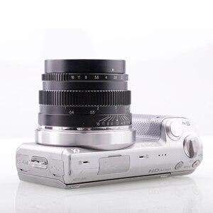Image 5 - Riseshunt عدسة قياسية بفتحة كبيرة ، 35 مللي متر f/1.2 ، للكاميرا بدون مرآة ، JINGJI