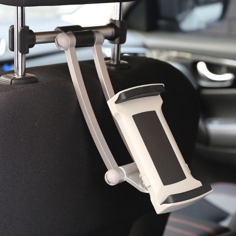 Suporte de assento traseiro vmonv, suporte ajustável para iphone 5.5 a 13 polegadas para tablet e ipad air pro 12.9,
