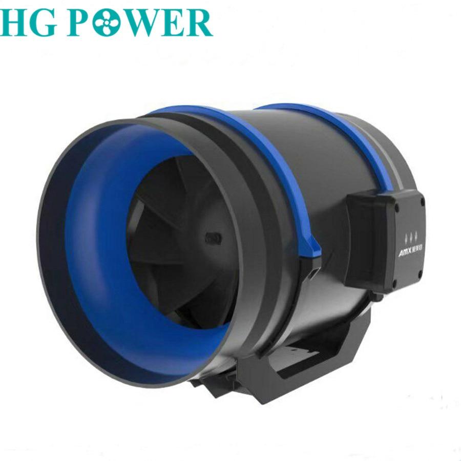 4'' 6''Home Low Noise Inline Fan Kitchen Blower For Toilet Bathroom Duct Ventilation Fan 220V 110V Exhaust Fan Fresh Air System