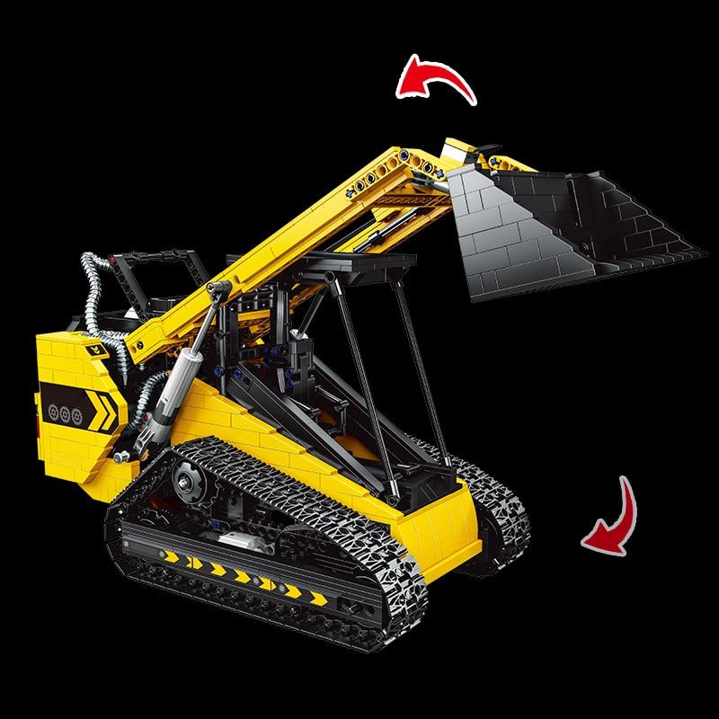 Yeshin 22007 APP RC Skid Steer Loader Building Block