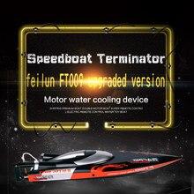 Feilun ft010 elétrica grande 2.4g barco de controle remoto esportes aquáticos super alta velocidade barco remo crianças presentes brinquedo ao ar livre