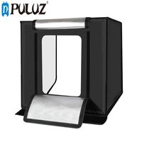 PULUZ PU5060 Photography studio Softbox 60cm Folding Portable 60W 5500K LED White Light Photo Lighting Studio Shooting Tent