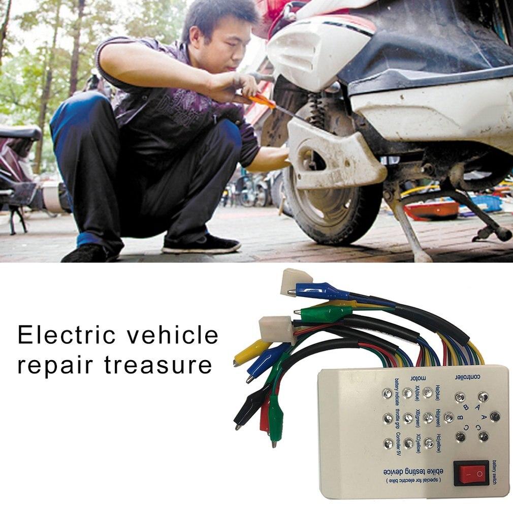 60V 36V 1pc 24V White 72V Electric Car E-Bike Scooter Brushless Motor Controller Tester Module Electronic High Performance 48V