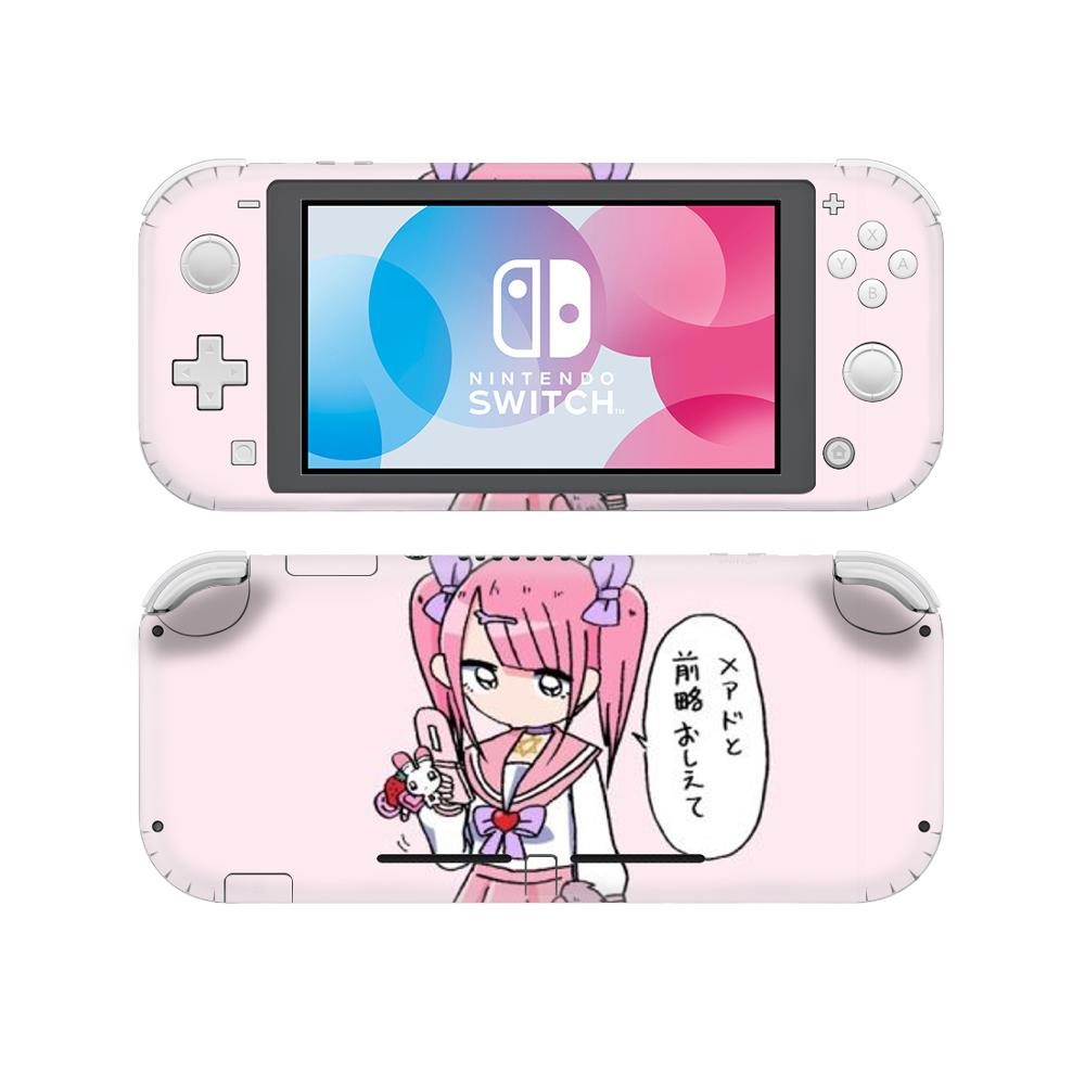 Anime Menhera Chan NintendoSwitch Skin Sticker Decal Cover For Nintendo Switch Lite Protector Nintend Switch Lite Skin Sticker