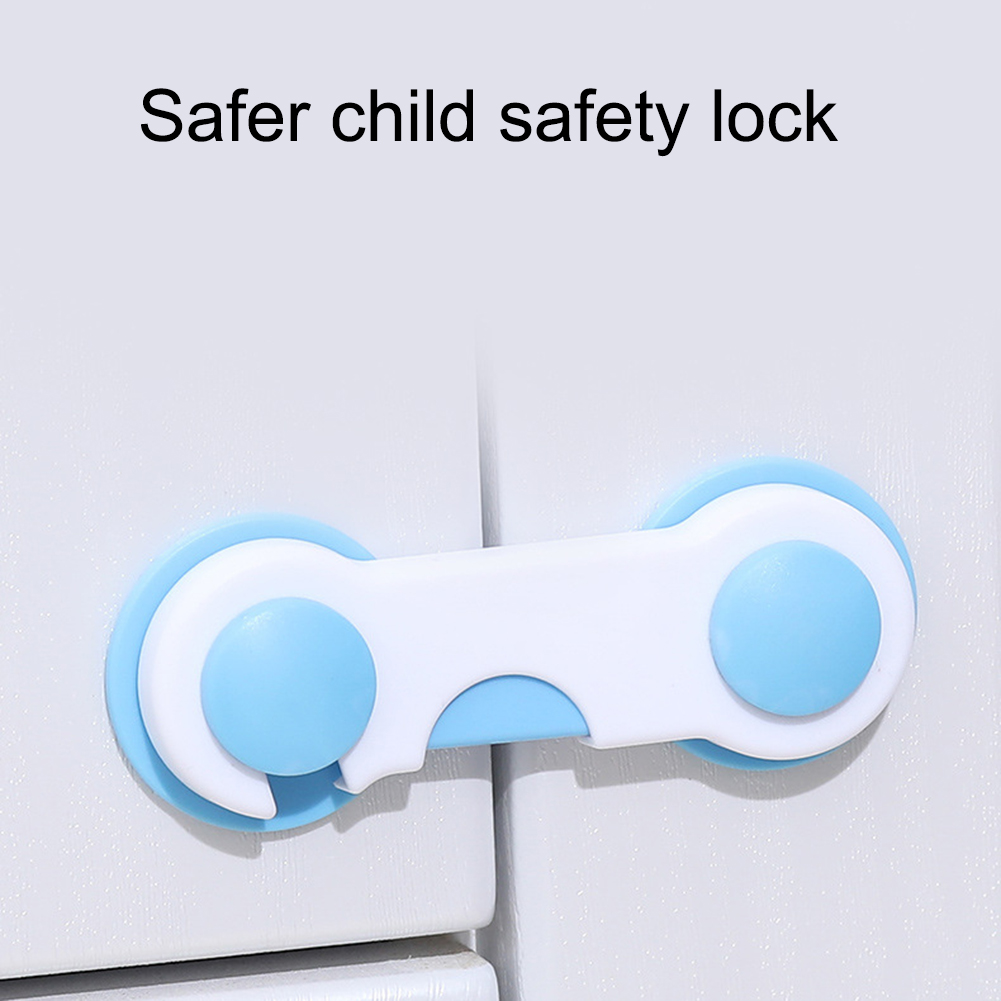 5 Pcs/set Child Lock Protection Of Children Baby Safety Lock Cupboard Cabinet Door Drawer Anti-Open Kids Safety Protection Locks