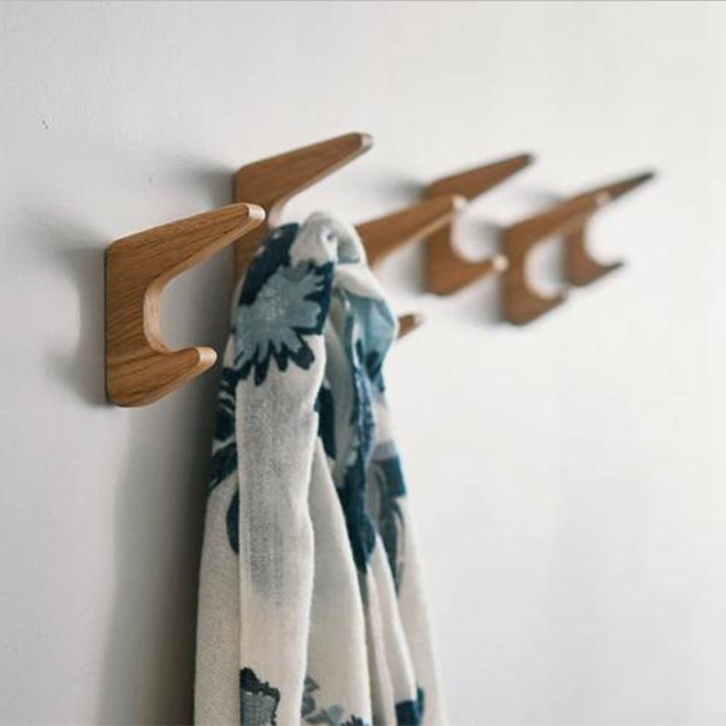 decor japan wall coat rack hat clothes bag hook decorative.htm 2pcs natural wood clothes hanger japanese style wall mounted coat  2pcs natural wood clothes hanger