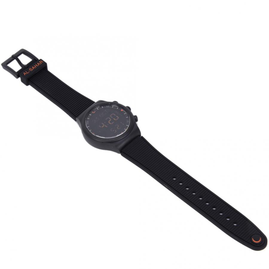 Muslim Watch Plastic Stainless Steel Waterproof Worship Prayer Wristwatch Religious Supplies Prayer Muslim Watch