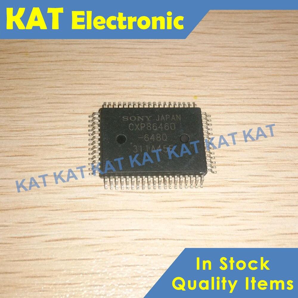 CXP86460-648Q CXP86460 QFP-64 CMOS 8-bit Single Chip Microcomputer