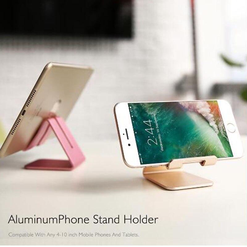 Подставка-держатель для мобильного телефона Алюминий из сплава в виде металлического планшетный Стенд Универсальный автомобильный держатель телефона для iPhone X/8/7/6/5 плюс samsung телефон/i