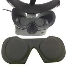 Vr lente protetora capa à prova de poeira caso para oculus rift s gaming headset acessórios óculos vr lente anti-risco capa almofada
