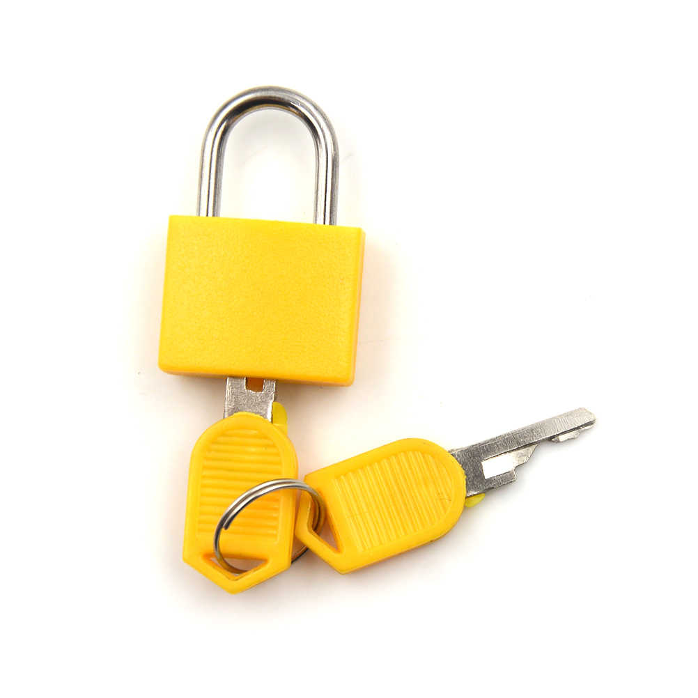 1 סט קטן מיני חזק פלדה מזוודת נסיעות יומן מנעול עם 2 מפתחות dropshipping