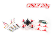 20g Happymodel Mobula6 65mm Crazybee F4 Lite 1S Whoop Runcam 3 Camera FPV Racing Multicopter Multiro