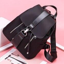 2020 nouveau Anti-vol étanche sac à dos femmes sacs d'école pour filles voyage noir sac à dos sac à dos grande capacité décontracté solide