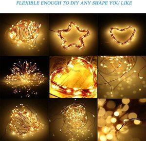 Image 5 - שמש מופעל אורות מחרוזת חיצוני שמש אורות פיית מחרוזת אורות לבית פטיו גן שער חצר מסיבת חתונה קישוט