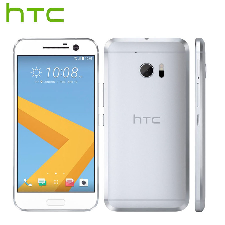 "EU Version HTC 10 M10 LTE Android Mobile Phone 4GB RAM 64GB ROM 12MP Camera Quad Core 5.2""1080P NFC 3000mAh Fingerprint Phone"