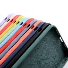 Original velvet Liquid Silicone Case For Xiaomi mi 9 9SE 10 A3 Note 10 Lite Redmi Note
