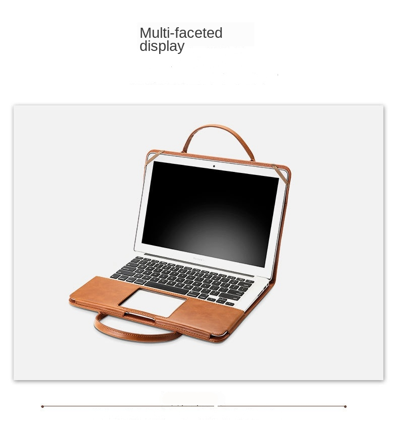 MacBook Leather Stand Case 4