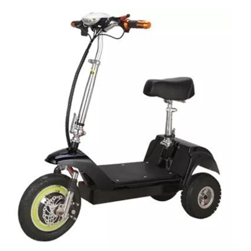 electric bike Outdoor mini folding electric bicycl three-wheel electric adult scooter Aluminum alloy 350w 36v lightweight e bike