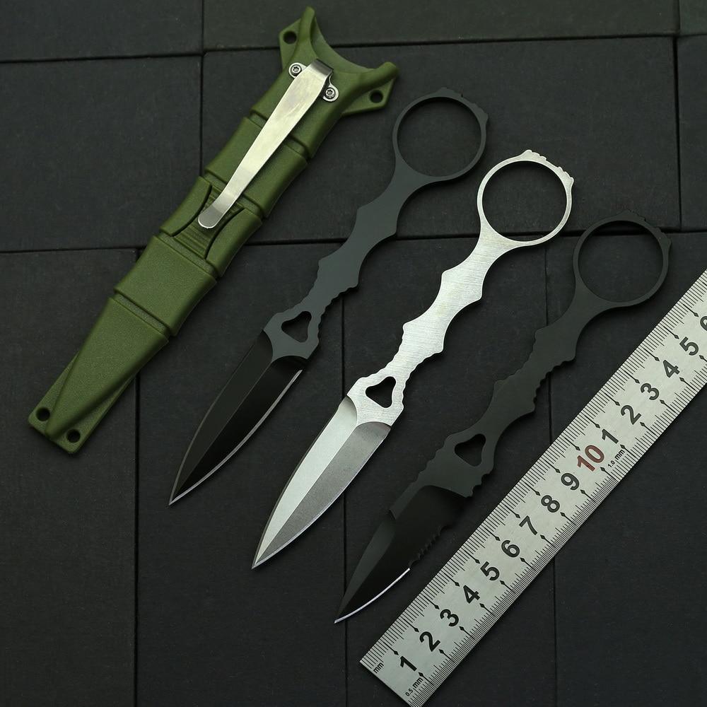 Karambit 176T фиксированный нож D2 Сталь половинчатое лезвие ABS оболочка Открытый охотничий выживания тактический карманный прямой нож EDC инструменты|Ножи|   | АлиЭкспресс