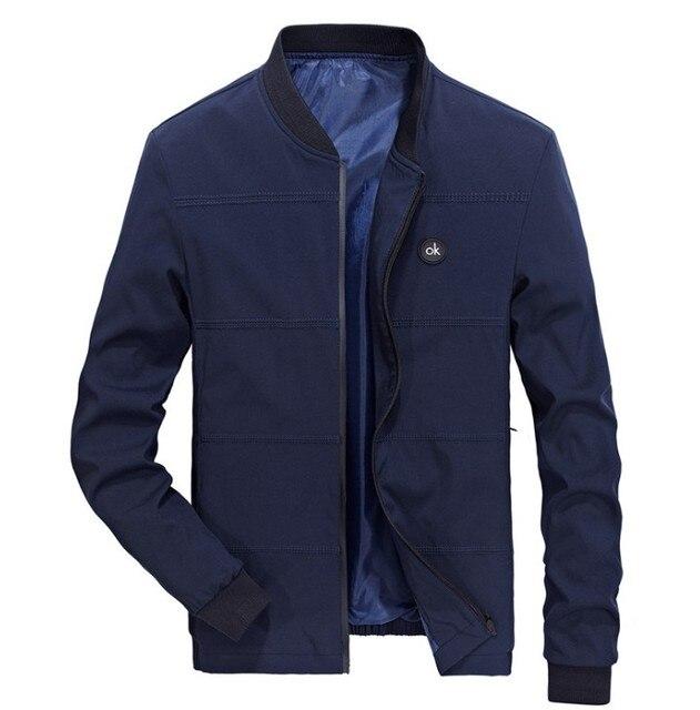 Spring Jackets Mens Pilot Bomber Jacket Male Fashion Baseball Hip Hop Coats Slim Fit Coat Brand Clothing 1