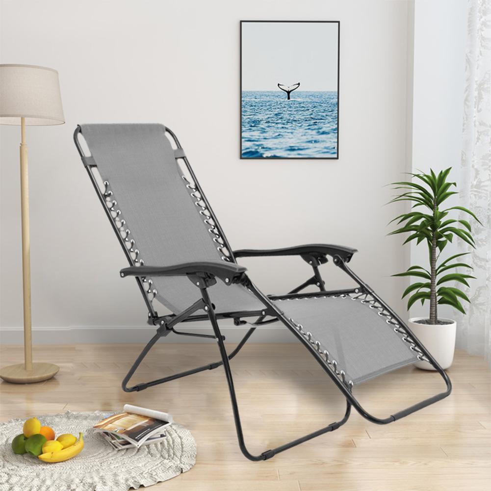 ใหม่ล่าสุดReclinerผ้าBreathableทนทานเก้าอี้Loungerเปลี่ยนผ้าLoungerเบาะยกเตียงสำหรับGarden Beach # CW