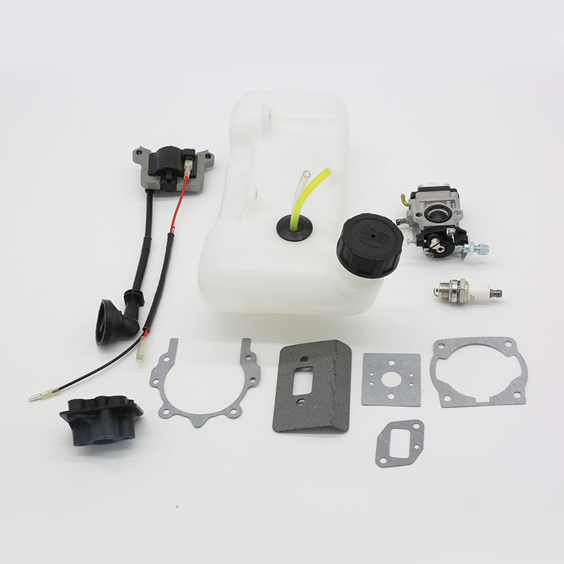 BC520 Brushcutter Carburetor BC430 Ignition 43cc Brush Engine TL43 Trimmers 5 Cutter 52cc CG430 Gasket 40 Kit For Coil CG520