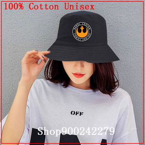 Gorro de sol casual de la Legión rebelde de star wars 2020, sombrero de cubo para hombres y mujeres, gorra de Hip Hop de Bob, sombrero de pesca plegable para el verano de Panamá, gorra de moda