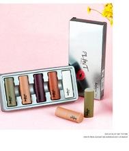 2020 nowa matowa szminka M makijaż połysk Retro szminki mróz Sexy matowe szminki 3g 5 kolorów szminki z angielską nazwą 3 sztuk tanie tanio Długotrwała