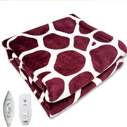 Электрическое одеяло для тела, теплое зимнее одеяло с подогревом, термостат, электрическое нагревательное одеяло, ковер, бытовые кровати, о...