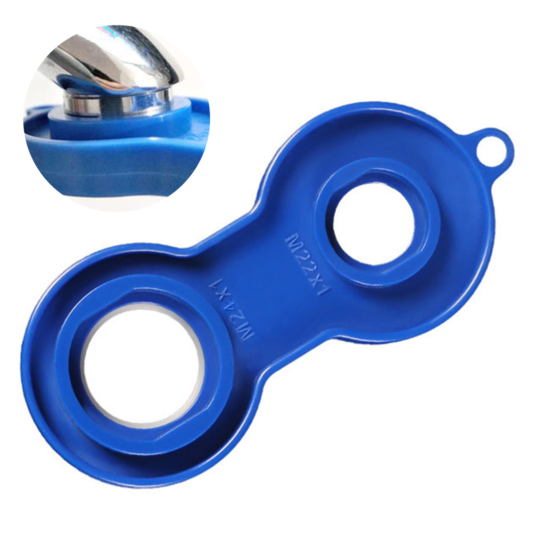 Пластиковый Смеситель Аэратор Отсоединяемый установочный гаечный ключ набор для ремонта сменный инструмент гаечный ключ для смесителя аэ...