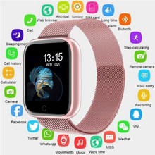 2019 N99 Monitor de ritmo cardíaco reloj inteligente mujeres hombres Fitness rastreador deporte IP68 impermeable reloj inteligente para Android IOS apple OK p68(China)