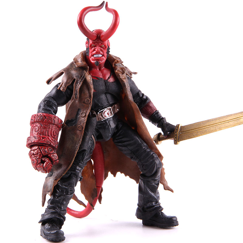 Hellboy Hell Boy Figure PVC Action Figure Collectible Model Toy 20cm