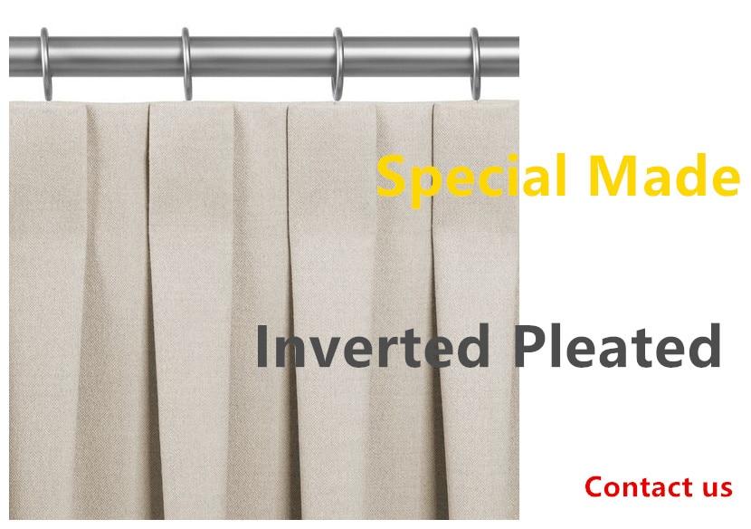 inverted pleated